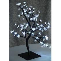 Árvore Abajur Decoração Flor Cerejeira Led