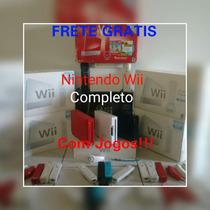 Nintendo Wii Completo+jogos+emuladores+brindes
