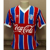Camisa Retrô Bahia 1988 Listrada P R O N T A . E N T R E G A