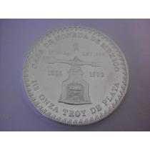 1/2 Onza Troy Plata Pura Piedra De Los Soles Fecha 1992