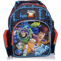 Mochila Escolar Infantil Toy Story Média 51676