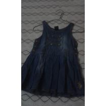 Vestido De Niña En Tela Bluyin