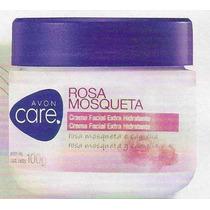 Crema Facial Humectante Rosa Mosqueta Avon Care De 100mg