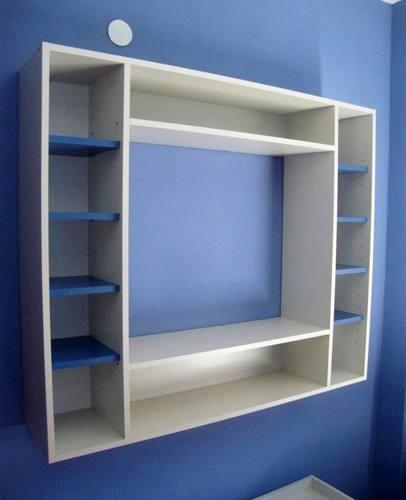 mueble tv plasma dvd diseño 2 colores - $ 4.800,00 en mercado libre - Muebles Tv Diseno
