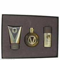 Kit Usher Vip 3 Peças: Edt Spray + Shower Gel + Deodorante