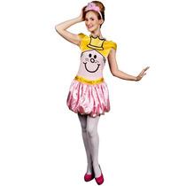 Disfraz Miss Princess Para Damas Talla Mediano Mcc Mr