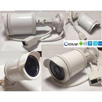 Câmera Ip 1,3mp 720p Externa Hd Onvif Infra Blc Ir Cut 50mts