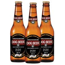 Kit Cerveja Para Cães Dog Beer Sabor Frango C/ 12 Und