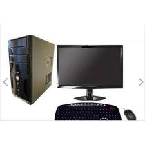 Computador Completo Novo Core 2 Duo 4gb Hd 160gb Wifi