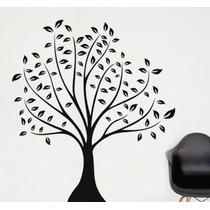 Hermoso Árbol Wall Sticker Decal Negro Ideal Para Habitació