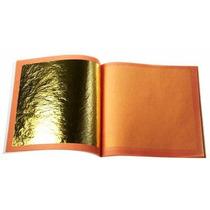 8 Hojas De Oro Comestible Para Decoración De Repostería