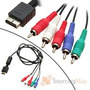 Cable Av Componente Audio Y Video Playstation 1 - 2 - 3