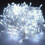 Pisca Pisca 100 Leds Coloridos Cordão 8 Funções 10m Natal
