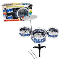 Mini Bateria Brinquedo Musical Infantil Jazz Drum