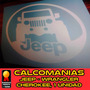 Calcomanias Jeep Jk Cj Tj Yj Renegade, Rusticos