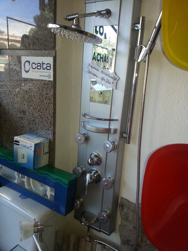 columna de hidro panel ducha griferia para baño - u$s 240,00 en ... - Griferia Para Bano En Mercado Libre