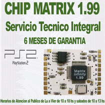 Chip Matrix 1,99 - Ps2 - Playstation 2 - Colocación Incluida