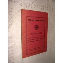 Libro Decreto No 74 , Estado Libre Y Soberano De Hidalgo , A