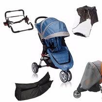 Coche Baby Jogger City Mini Con Accesorios Full Tienda Love