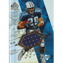 2004 Reflections Focus In The Future Jersey Chris Brown Rb