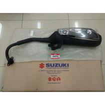 Escapamento Suzuki Burgman 125 Ano 2005 A 2010 Original Novo