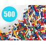Los Ladrillos De Construcción - Regular Colores - 500 Unidad