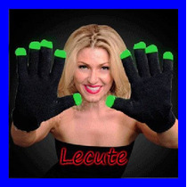 Guantes Luminosos Led Fiesta Rave Evento Animacion Luz Antro