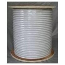 Cable Coaxial Rg6 75,ohm Blanco Para Tv Rollo De 10 Metros