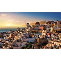 Puzzle 1000 Piezas Isla De Santorini Grecia