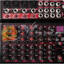 Mixer 12 Ch Profesional Original Efectos Sonoros Rca Xaris .