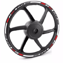 Friso Adesivo Refletivo Roda Tricol M2 Moto Honda Cg Fan 160