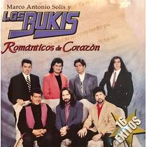 Cd Los Bukis Romanticos De Corazon Marco Antonio Solis