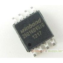 C1.162 Ci Chip Bios Winbond 25q16bvsig - 25q16bv Virgem Smd