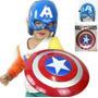Escudo De Capitán América + Máscara