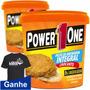 Kit 2 Pastas De Amendoim Torrado Crocante 1kg Power One