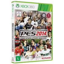 Pes 2014 Original - Xbox 360 Frete Grátis E Sem Juros
