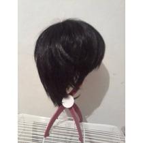 Peruca-wig Curta Preta -encomenda -importada.cosplay