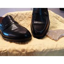 Calzados De Vestir Masculino -mocasin Retro Puro Cuero Real-