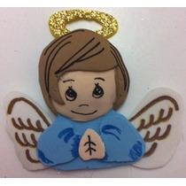 Figura Foamy Termoformado Angel Niño Lote 10 Pz Fomi 5 Cms