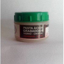 Crema Pasta Satinado-grabado De Vidrio -uso Artesanal