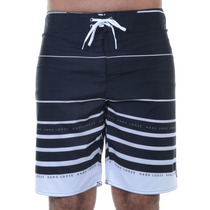 Bermuda Masculina Hang Loose Água Hang Stripe