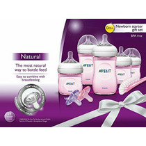 Philips Avent Set De Inicio Natural Infantil, Rosa