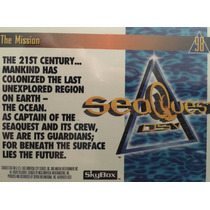 Tarjetas Colección Sea Quest, Serie De Tv