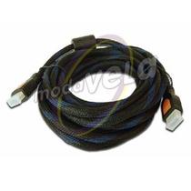 10 Piezas Cable Hdmi 10 Metros Hd Ps3 Xbox Ps4 Pc Smart Tv