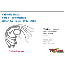 Cables Bujias Ford F-150 Fortaleza 6cil 4.2 1997-2000