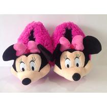 Babuchas Minnie Mouse Tallas Niños - Entrega Inmediata