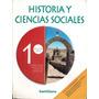 Historia Y Ciencias Sociales 1º Medio / Editorial Santillana