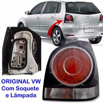 Lanterna Polo Hatch Fumê L/e 08 2009 2010 2011 2012 Original