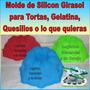 Molde De Silicon Girasol Para Torta Gelatina Quesillo Fiesta