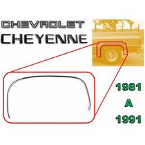 81-91 Chevrolet Cheyenne Moldura Arco Trasera Lado Izquierdo